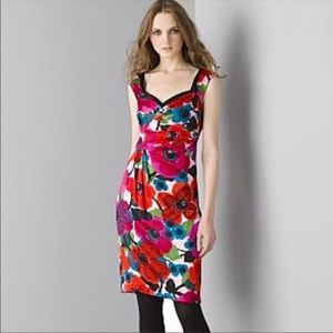 Nanette Lepore Gin Sling Sheath Floral Dress